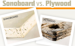 Sonoboard vs Plywood